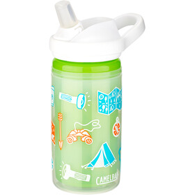 CamelBak Eddy+ Insulated Trinkflasche 400ml Kinder adventure map
